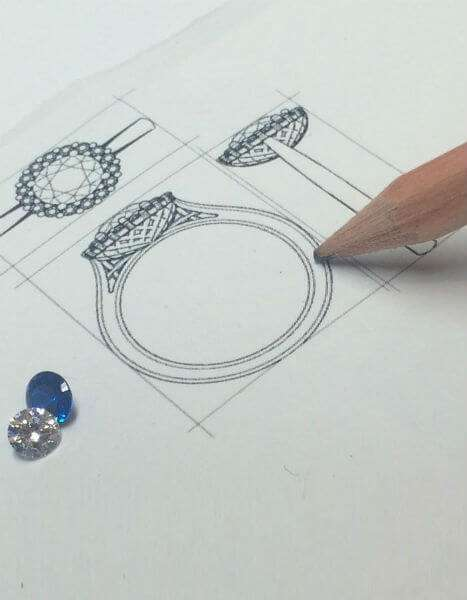 Bespoke Diamond Jewellery Design