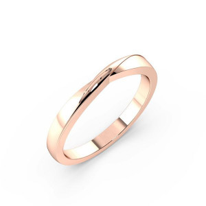Plain Classic Shaped Wedding Band (2.00mm)