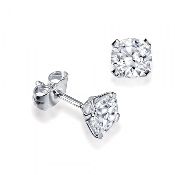 العقل المدبر المؤلفات استهداف Men S Single Gold Stud Earrings Psidiagnosticins Com